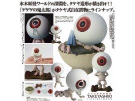 "預訂 7月 Kaiyodo 鬼眼爸爸 KT Project KT-019 Takeya Style Jizai Okimono ""GeGeGe no Kitaro"" Medama-oyaji"