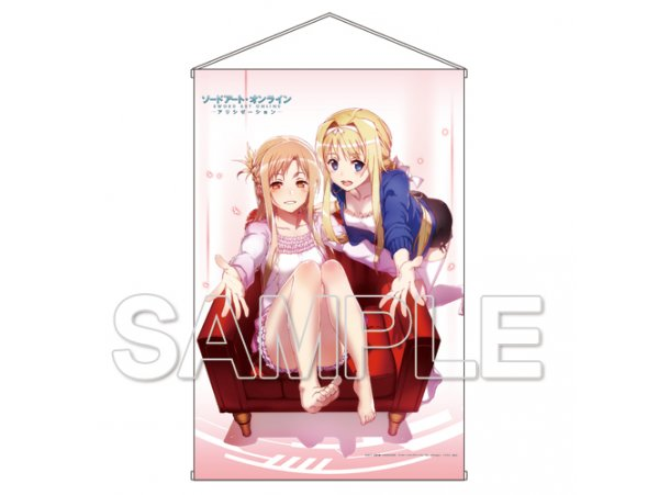 "預訂 12月  KADOKAWA 刀劍神域  Sword Art Online"" HD Wall Scroll"
