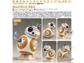 預訂 6月 日版 Good Smile 858 黏土人 BB-8 STAR WARS:最後的絕地武士 Nendoroid - Star Wars: The Last Jedi: BB-8