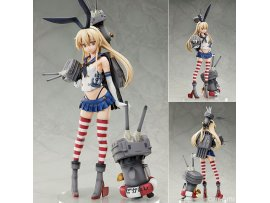 FREEing 島風 艦隊Collection Exclusive Sale] B-style Kantai Collection -Kan Colle- Shimakaze 1/4 PVC Figure