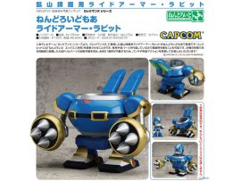 預訂 6月  Capcom 黏土人配件系列 騎乘裝甲‧飛兔號 Nendoroid More Mega Man X Series Ride Armor Rabbit