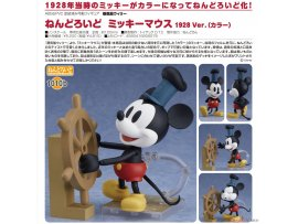 預訂 5月 Good Smile  汽船威利號  1010b黏土人 米老鼠 1928 Ver.(彩色) Nendoroid Steamboat Willie Mickey Mouse 1928 Ver. (Color)