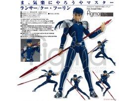 日版  庫·夫林 MAX Factory figma 375 Fate/Grand Order: Lancer/Cu Chulainn