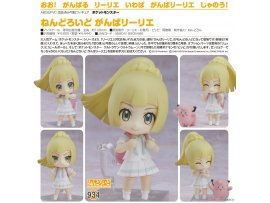 Good Smile 精靈寶可夢 934黏土人 莉莉愛加油  Nendoroid - Pokemon: Lively Lillie