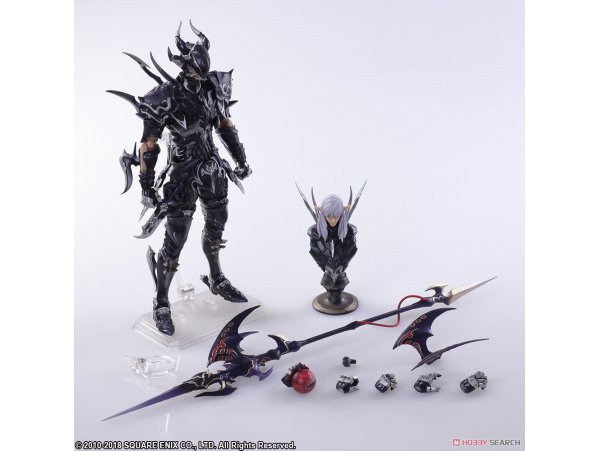 預訂 11月 日版    Square Enix 最終幻想XIV 愛沙尼亞 Final Fantasy XIV - Bring Art: Estinien Action Figure