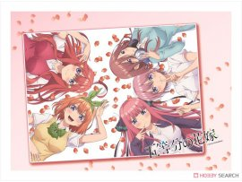 "預訂 2月  Contents Seed TV Anime ""The Quintessential Quintuplets"" Full Color Blanket  「五等分の花嫁」 全彩毯"