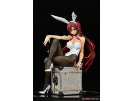 日版 Orca Toys 艾爾莎 Bunny girl FAIRY TAIL Erza Scarlet Bunny Girl Style 1/6   type white 白 PVC  Figure