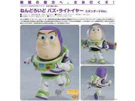 預訂 7月 日版  Good Smile 玩具總動員 1047 黏土人 巴斯光年 標準Ver. Nendoroid TOY STORY Buzz Lightyear Standard Veri illustration by Jin Happoubi 1/6   PVC  Figure
