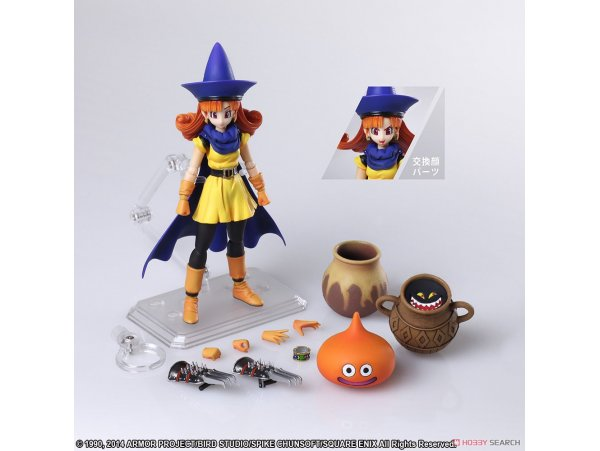 預訂 4月 日版  Square Enix 阿萊娜 Dragon Quest IV: Michibikareshi Monotachi BRING ARTS Alena Action Figure