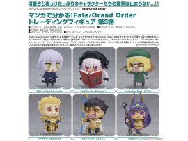 預訂 6月 Good Smile 從漫畫了解 Fate/Grand Order!收藏系列模型 第3話  Learning with Manga! Fate/Grand Order Collectible Figures Episode 3 6Pack BOX