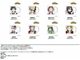 """預訂 4月 日版 armabianca 我的英雄學院 杯Resale """"My Hero Academia"""" Ani-Art Mug"""