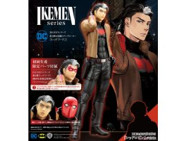 預訂 6月 日版 Kotobukiya  DC COMICS IKEMEN 蝙蝠俠 紅頭罩 -[初回生産限定パーツ付属版]  DC UNIVERSE: Red Hood [First Press Limited Part Bundled Edition] 1/7 PVC Figure
