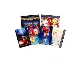 aniplex Fate / EXTRA 尼祿  風呂Last Encore Water Acrylic Calendar & Bathroom Poster Set