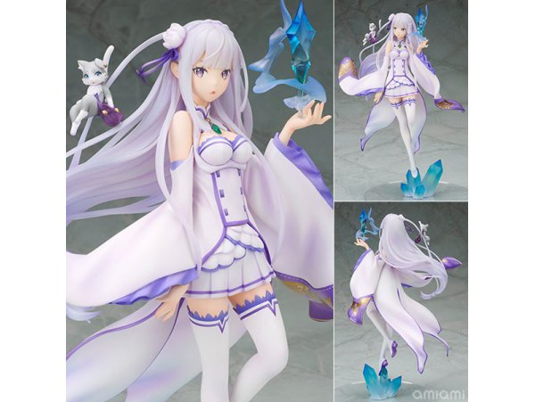 預訂 9月 日版  Alpha Omega 從零開始的異世界生活 EMILIA EMT 艾米莉亞 [Exclusive Sale] Alpha Omega Re:ZERO -Starting Life in Another World- Emilia  Figure