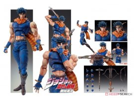 預訂7月 Medicos Entertainment 超像可動 JOJO奇妙な冒険 第2部  Super Action Statue JoJo's Bizarre Adventure Part.II Joseph Joestar