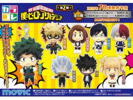 7月 日版 Movic Color Collection 我的英雄學園 My Hero Academia Vol.2 (Set of 8)