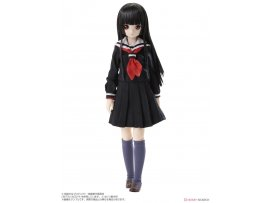 8月 Azone International  『地獄少女 宵伽』 閻魔あい 完成品ドール Hell Girl: The Fourth Twilight Ai Enma Obitsu Uniform Project Collaboration Model Fashion Doll