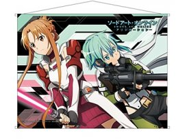 "Contents Seed ""Sword Art Online -Alicization-"" B2掛畫 亞絲娜& 詩乃"