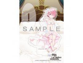 """預訂 7月 日版 Curtain Tamashii Re:Zero kara Hajimeru Isekai Seikatsu"""" Acrylic Stand Ram Wedding  拉姆 掛件 扣"""