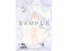 "預訂 7月 日版 Curtain Tamashii Re:Zero kara Hajimeru Isekai Seikatsu"" Acrylic Stand Emilia EMT Wedding  艾米莉亞  掛件 扣"
