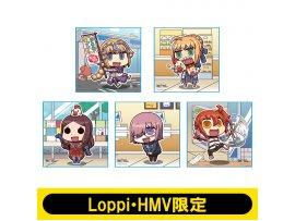 hmv 手帕 Fate / Grand Order micro fiber handkerchief set of 5 [Loppi · HMV limited]