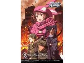 日版   Bushiroad  刀劍神域外傳 Weiss Schwarz Trial Deck+ (Plus) Sword Art Online Alternative Gun Gale Online Pack