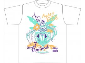 日版Gift 初音ミク レーシングVer.2017 Tシャツ タイ応援ver. Hatsune Miku Racing Ver.2017 T-shirt Thai Support ver.