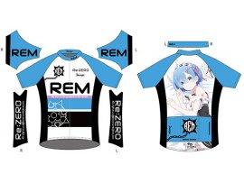 日版 DECOJASPORTS Re:ZERO -Starting Life in Another World- Cycling Jersey: Rem