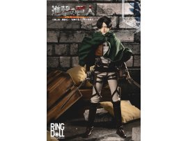 "預訂 11月 日版  RingDoll  進撃の巨人 里唯 兵長 ""Attack on Titan"" BJD Doll Levi Ackerman"