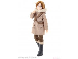 "預訂 10月 日版 Azone  義呆利 The World Twinkle Asterisk Collection Series No.015 ""Hetalia The World Twinkle"" Canada 1/6 Complete Doll"