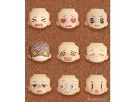 日版  Good Smile 黏土人配件系列 替換用臉部表情01&02 精選款 Nendoroid More Face Swap 01 & 02 Selection 9Pack BOX PVC Figure