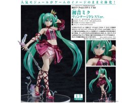 7月 日版  Max Factory 初音未來 Vintage Dress Hatsune Miku -Project DIVA- F 2nd Hatsune Miku Vintage Dress Ver. 1/7 PVC Figure