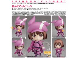 Good Smile 刀劍神域外傳959 黏土人 蓮Nendoroid Sword Art Online Alternative Gun Gale Online Llenn