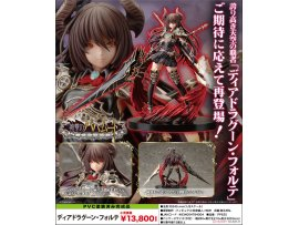日版 Kotobukiya  巴哈姆特之怒 雙槍 Rage of Bahamut - Dark Dragoon Forte 1/8 Complete Figure
