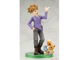 "預訂 9月  Kotobukiya  寵物小精靈 ARTFX J - ""Pokemon"" Series: Blue with Eevee 1/8 PVC Figure"
