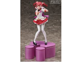 "日版 DENGEKIya 電擊限定 黒澤露比""lovelive! Sunshine !! ""Birthday Figure Project Kurosawa Ruby"
