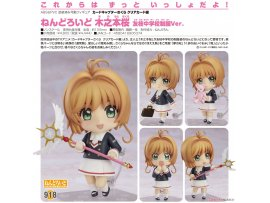 預訂 10月 日版 Good Smile  918黏土人 木之本櫻 友枝中學制服Ver. Nendoroid - Cardcaptor Sakura: Clear Card: Sakura Kinomoto Tomoeda Junior High Uniform Ver