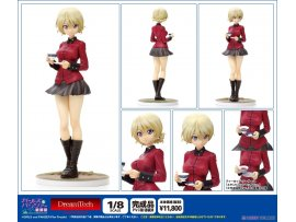 日版 WAVE 少女與戰車劇場版 大吉嶺  DreamTech - Girls und Panzer the Movie: Darjeeling Panzer Jacket Ver. 1/8 Complete Figure