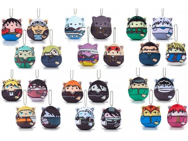 "預訂 4月 日版APR Bandai Manekimochineko ""Gintama""YuYu Hakusho""""One Piece""""Hunter x Hunter""Bleach""  BORUTO NARUTO NEXT GENERATIONS""  Mascot Charm"