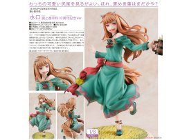 預訂 1月 Revolve 狼と香辛料  10周年記念 Spice and Wolf Holo Spice and Wolf 10 Anniversary Ver. 1/8   PVC Figure