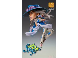 預訂 1月 Medicos Entertainment 超像可動 JOJOの奇妙冒険 第7部   Super Action Statue JoJo's Bizarre Adventure Part. 7 Steel Ball Run Gyro Zeppeli Second