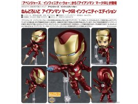 預訂 2月  Good Smile 988黏土人 鋼鐵人 Mark50  無限之戰版 Nendoroid Avengers: Infinity War Iron Man Mark 50 Infinity Edition