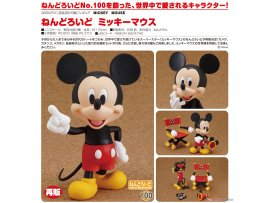 預訂 9月 Good Smile  米奇 Nendoroid Mickey Mouse Pre-painted Posable Figure