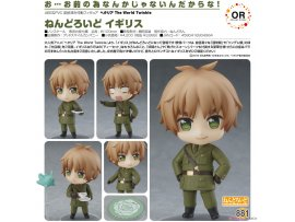 goodsmile  義呆利 The World Twinkle 881黏土人 英國Orange Rouge Nendoroid - Hetalia The World Twinkle: England