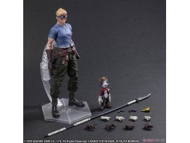 日版 Square Enix Play Arts Kai - FINAL FANTASY VII ADVENT CHILDREN: Cid Highwing & Cait Sith