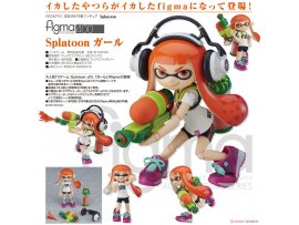 預訂 5月  Good Smile  400figma Splatoon 女孩 figma Splatoon Girl