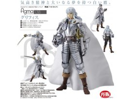 "預訂 5月  Good Smile 烙印勇士  138figma 古力菲斯figma Movie ""Berserk"" Griffith"