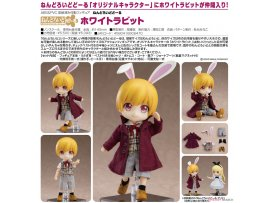 預訂 3月 Good Smile 黏土娃 白兔 Nendoroid Doll White Rabbit