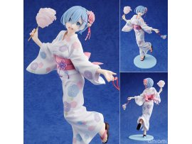 "預訂 3月   KADOKAWA  限定 RE:從零開始的異世界生活 雷姆  ""Re:ZERO -Starting Life in Another World-"" Rem Yukata Ver. 1/7   PVC Figure"
