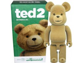 MEDICOM TOY BEARBRICK Ted 2 賤熊 植毛 BE@RBRICK 400%